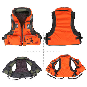 Outdoor Water Sports Safety Life Vest For Boat Drifting Survival Swimwear Fishing For Men & Women