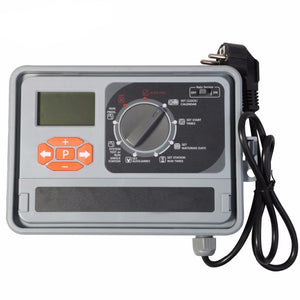 11 Station Garden Automatic Irrigation Controller Timer Watering System With Eu Standard Internal Transformer