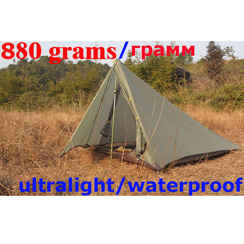 Ultralight Double Layer 1-2 Person Portable Waterproof Shelter Hunting & Fishing Camping Tent Outdoor Bivvy Barraca