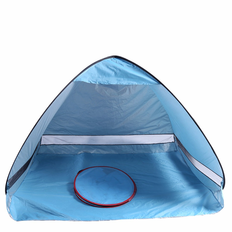 Outdoor Camping Hiking Summer Uv Protection Fully Automatic Portable Pop Up Beach Tent