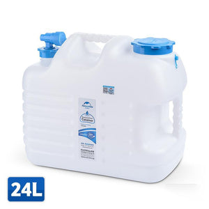 12L 24L Water Barrel High Grade PE Outdoor Hiking Camping Accessories Water Container