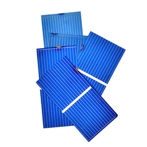 100pcs Solar Panel Sun Cell Sunpower Polycrystalline Photovoltaic DIY Solar Battery Charger 0.5V 0.2W 52*26mm