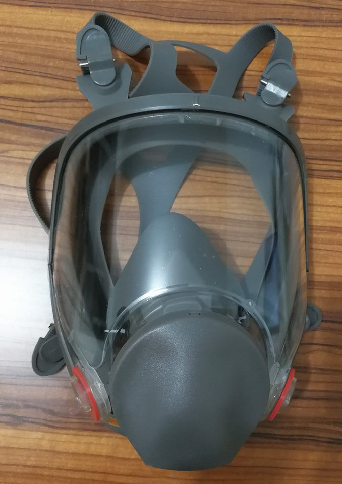 6800 Large View Full Gas Mask Full Facepiece Respirator Silicone Mask