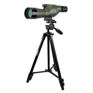 SV19 Spotting Scope 15-45x60SE Waterproof Shooting Archery Hunting FMC Long Tripod Telescope