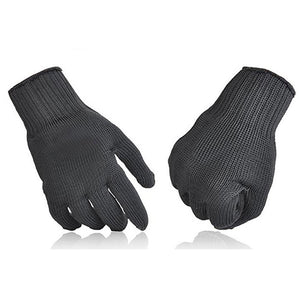 Anti-slip Anti-cut Outdoor Hunting Fishing Gloves Cut Resistant Hand Protection Mesh Gloves