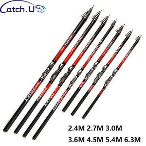 Spinning Fast Action Telescopic Carbon Telescopic Spinning Rod