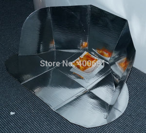 Quick Heating Environmental Green Material Collapsible And Portable Solar Cooker Solar Oven