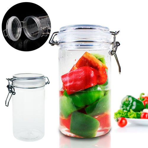 Food Container Air Tight Sealed Jar Kitchen Storage Box