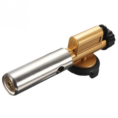 Outdoor Camping Welding Butane Ignition Gas Torch Soldering Switch Burner Fire Starter