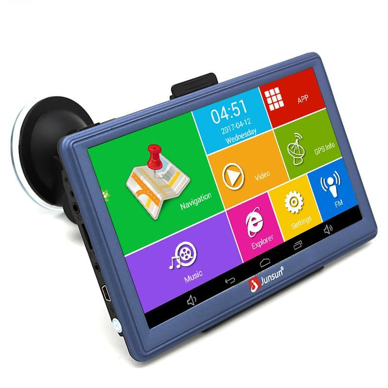 7 inch Car GPS Android Bluetooth WIFI Truck Vehicle Auto Navigation Map