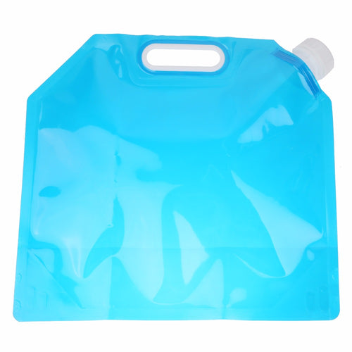 5L Portable Folding Drinking Water Container Lifting Outdoor Camping Hiking Survival Storage Bag