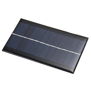 6V 1W Solar Power System Module Home DIY Solar Panel For Light Battery Cell Phone Chargers For Home Travelling