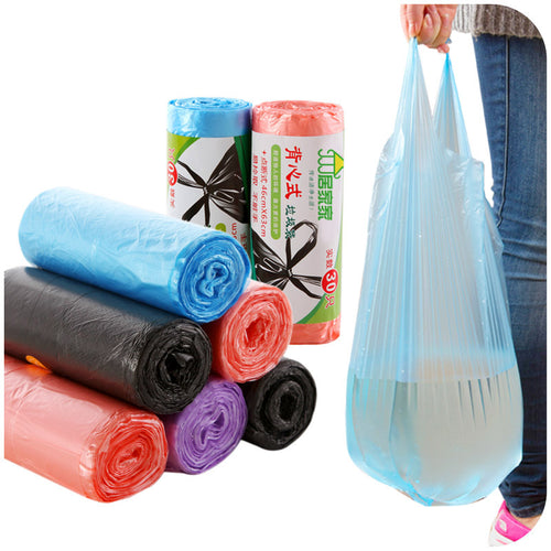 Multi-color Disposable Household Plastic Bags