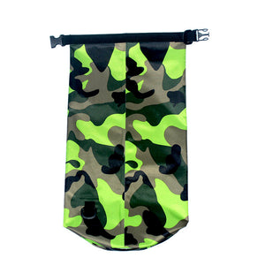 Ultralight Camping Organizer Outdoor Drifting Swimming River Trekking Waterproof Camouflage Bag 2L/5L/10L/15L/20L
