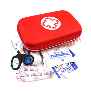 First Aid Kit Survival Drug Storage Box Travel Emergency Medical Bag