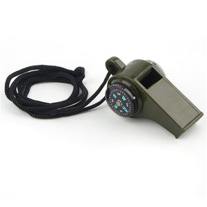 3 in1 Survival Camping Whistle