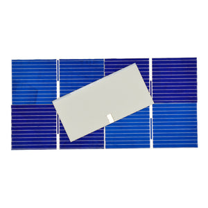 100pcs Solar Panel Cells DIY Charger Polycrystalline Silicon Placa Board