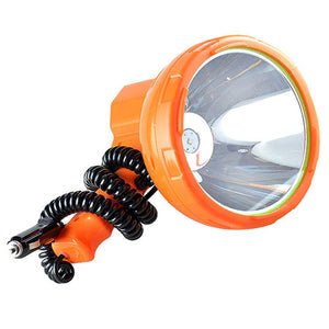 12V 1000m Portable Spotlight Fishing Lamp 50w Led And Vehicle Mounted Searchlight