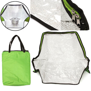 Portable Solar Oven Emergency Cooker For Outdoor Camping Travel Solar Oven Green With Bag