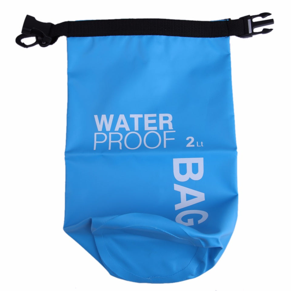 2L Waterproof Dry Bag Swimming Outdoor Sports Bag Camera Phone Holder River Trekking Kayaking Water Sports Clothing Storage Bag
