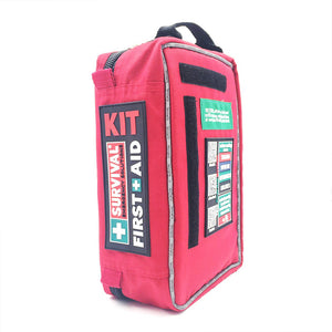 Professional Large Empty 4 Layers High Quality First Aid Survival Medicine Cabinet Large Travel Rescue Bag