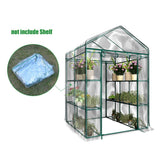 PVC Transparent Greenhouse Cover Not Include Shelf Portable Outdoor Mini Film Warmhouse Garden