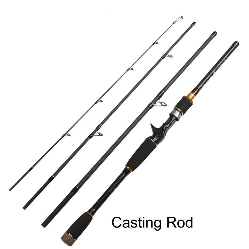 Fishing Spinning Casting Rod 99% Carbon Fiber Telescopic 2.1M 2.4M 2.7M