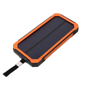 5V 5/10W Portable Solar Charger Solar Power Bank With Flashlight for iPhone Samsung HTC nexus Smart Phone iPad