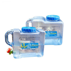 5L 8L PC Handy Collapsible Water Bottle Container Durable Pail CL129