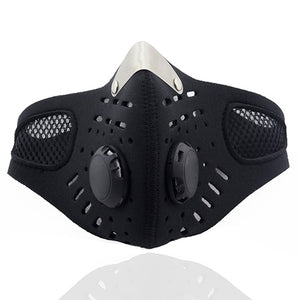 PM2.5 Anti Haze Breathable Valve Activated Carbon Filter Respirator Mouth-muffle Mask