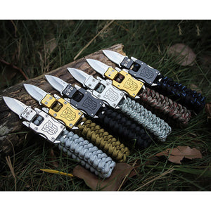 Tactical Multifunctional EDC Paracord Bracelet