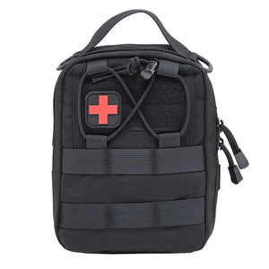 Emergency Mini survival Kits Empty Bag Tactical Medical First Aid Kit Military Waist Pack Travel Tactical Molle Pouch