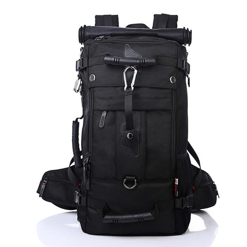 Backpack Travel Bag Large Capacity Versatile Utility Mountaineering Multifunctional Waterproof Backpack Luggage Bag