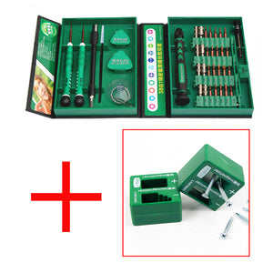 Screwdriver Set 38in1 Repair Tools Kit Precision S2 Alloy Steel for Cell Phone iPhone 4s,5s,6s, PSP