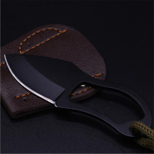 Mini Pocket Knife Finger Paw Sheath Survival for Outdoor Camping  Self-Defence