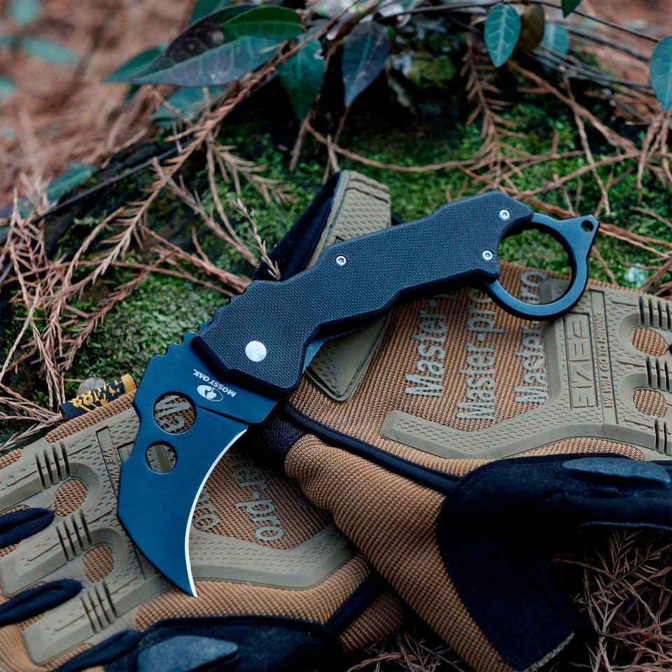2pc Tactical Karambit Pocket Folding Knife Outdoor Camping