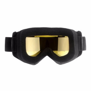 Motorcycle Half Helmet Mask Off-road Windproof Goggles with Adjustable Elastic Strap