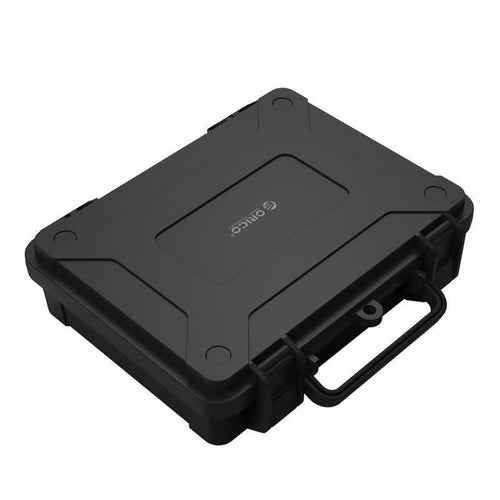 3.5 Inch HDD Hard Case Safety Box with Water-proof Shock-proof Lock Snap Design