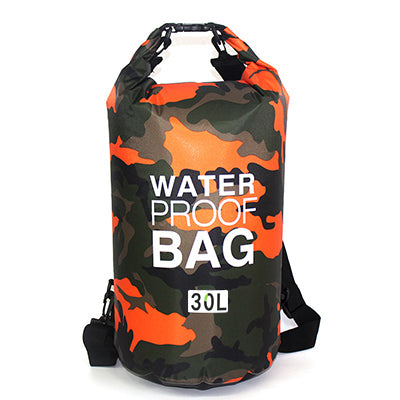 30L Bag Camouflage Portable Rafting Diving PVC Waterproof Folding Swimming  Storage Bag for River Trekking Outdoor ... d66e646294f9f