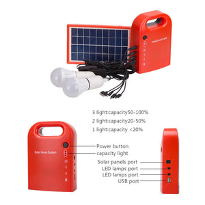 Portable DC Solar Panel Charging Generator 4.5Ah / 6V Lead-acid Batteries Energy