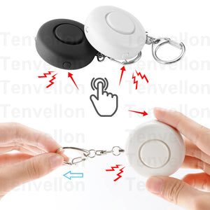 Self Defense Mini Keychain Personal Emergency Alarm Security Protection