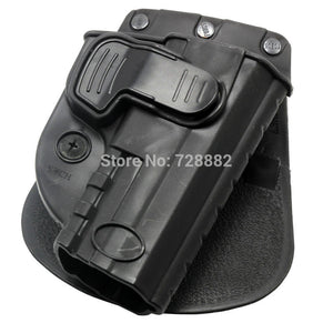 Tactical Holster Right Hand Belt Loop SWCH Rapid Release Design