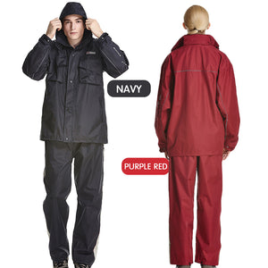 Impermeable Raincoat Women/Men Suit Outdoor Hood Rain Coat