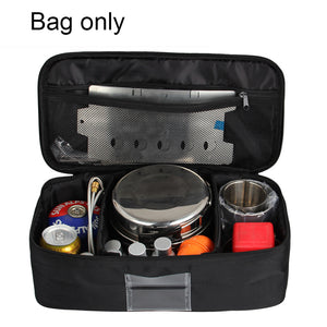 Outdoor Picnic Package Cooking Utensils Gas Tank Anti-collision Tableware