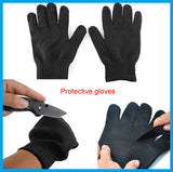 Anti-cut Metal Mesh Gloves Proof Protect Stainless Steel Wire Breathable Gloves
