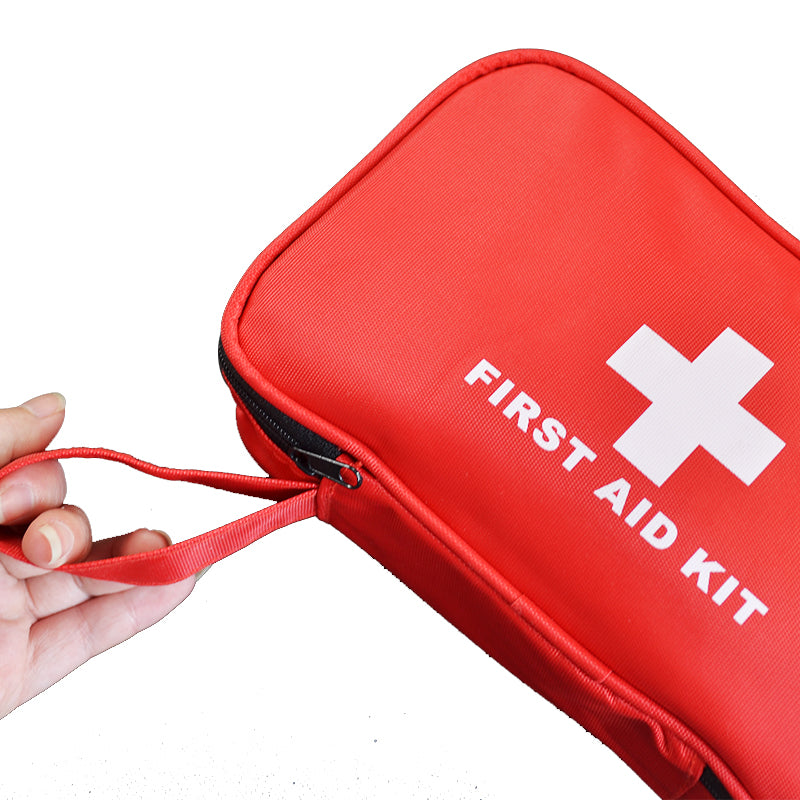 180pcs/pack Safe Travel First Aid Kit Outdoor Camping Hiking Medical Emergency Treatment Pack Set