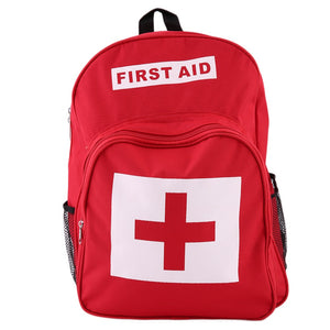 Backpack First Aid Kit Outdoor Sports Camping Medical Emergency Survival Bag