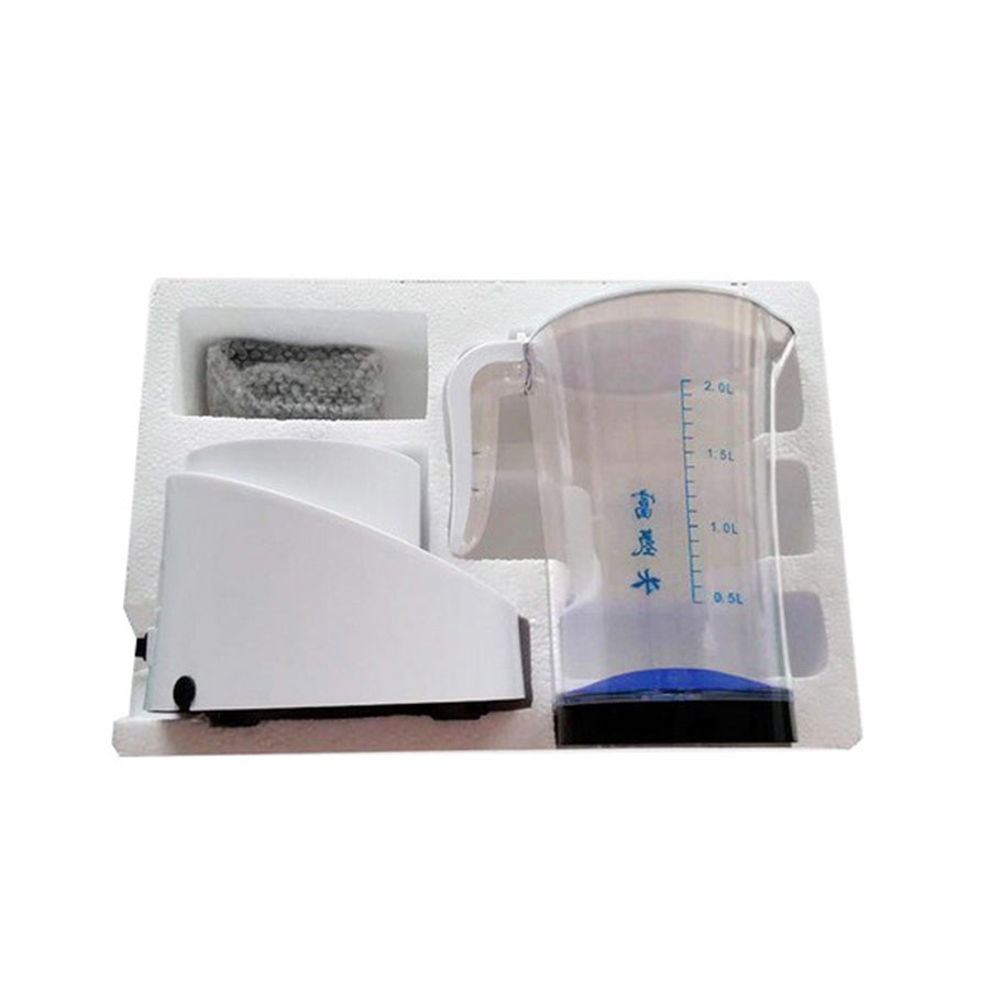 2000ML Household Water Filter Alkaline Ionizer Kettle Hydrogen Generator