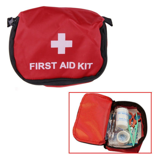Mini First Aid Kit Outdoor Wilderness Survival Travel Emergency Medical Bag