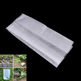 100pcs Pack Nursery Pots Seedling Raising Bags Environmental Garden Supplies